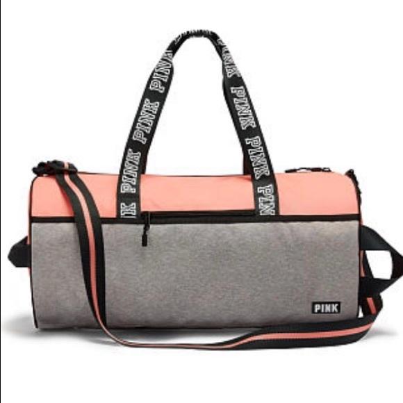 4acbf2463 PINK Victoria's Secret Bags   Victorias Secret Pink Duffle Bag ...